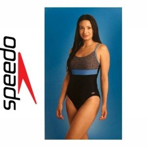 Speedo Color block One Piece Swimsuit
